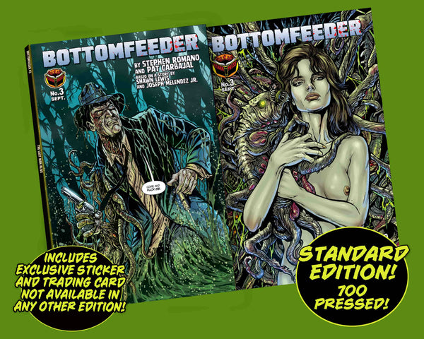 Bottomfeeder #3 Standard Edition (unsigned) - Only 700 Copies!