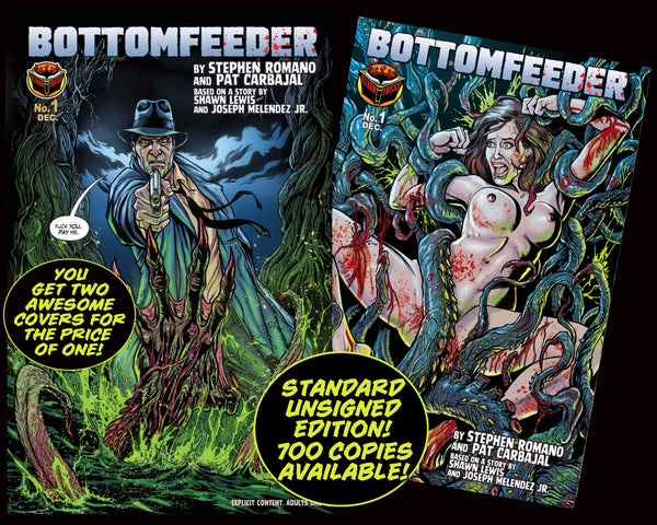 Bottomfeeder #1 Standard Edition (unsigned) - Only 700 Copies