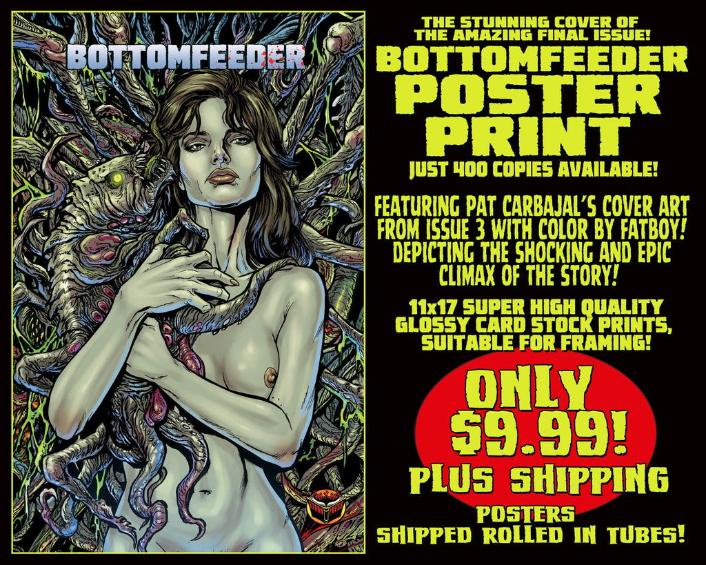 Bottomfeeder 11 x 17 Comic Cover Poster Print! Only $9.99!