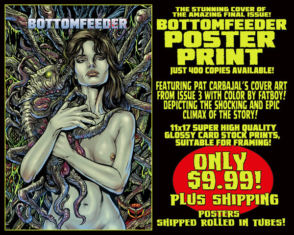 Bottomfeeder 11 x 17 Comic Cover Poster Print! Only $6.99!