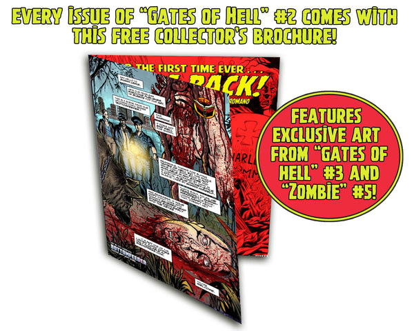LUCIO FULCI'S GATES OF HELL #2 Unsigned Edition. Only 1000!