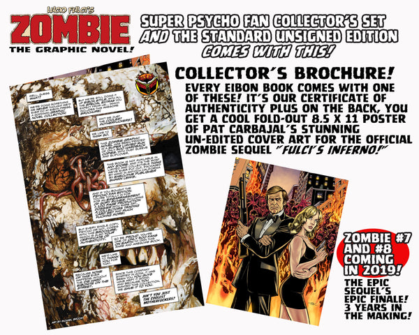 Zombie Graphic Novel Hardback! Standard Edition - Collects Zombie Issues 1-4! ALMOST GONE!