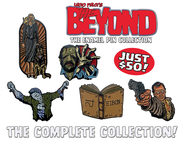 The Beyond Enamel Pin Collection Complete Set - All 5 Pins Included! - Only 50 Sets Available!