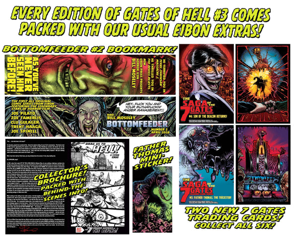 LUCIO FULCI'S GATES OF HELL #3: Sister Mary Bonus Tracks Edition - Only 500 Copies!