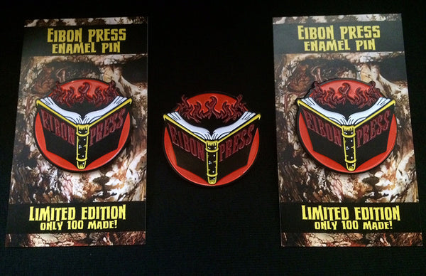 Eibon Press enamel pins!