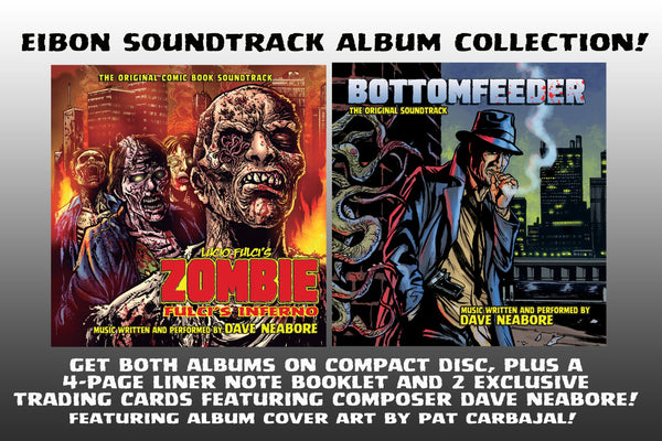 Dave Neabore's Soundtrack Collector's Pack! 2 CD's, 2 Trading Cards, 4 Page Liner Note Booklet!