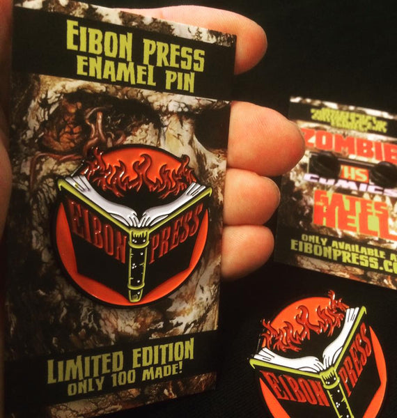 Eibon Press enamel pins! ONLY 10 Left!