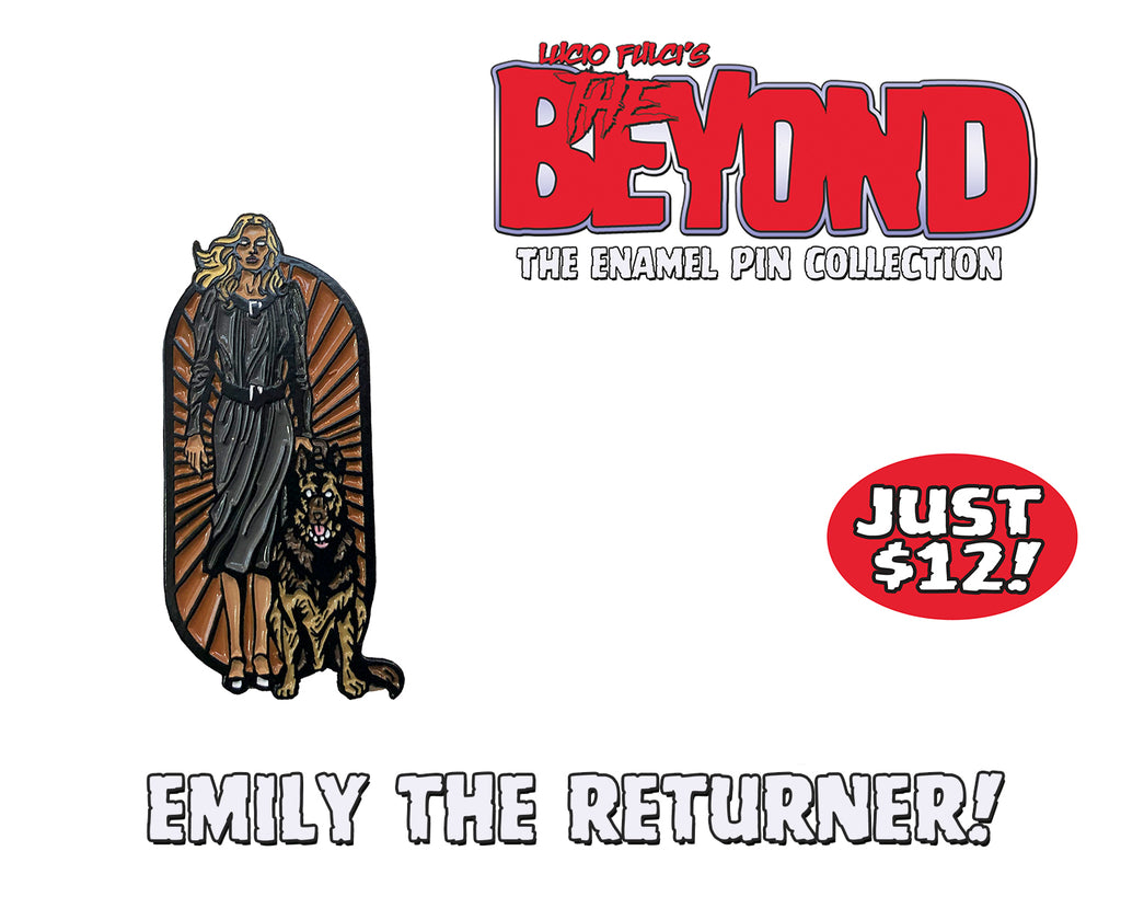 Emily The Returner - The Beyond Enamel Pin Collection - Limited To 50 Pins!