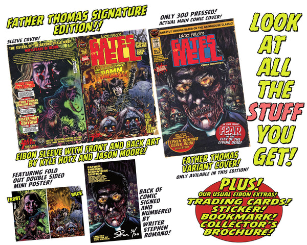 LUCIO FULCI'S GATES OF HELL #3: Father Thomas Signature Edition - Only 9 Copies Left!