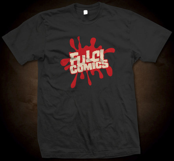 Eibon Press Shirts - Fulci Comics Logo