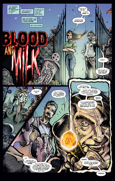 LUCIO FULCI'S GATES OF HELL #3: Blood Tears Vinyl Edition - Only 700 Copies!