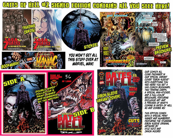 LUCIO FULCI'S GATES OF HELL #2 - SIGNED Edition. Only 1,000!