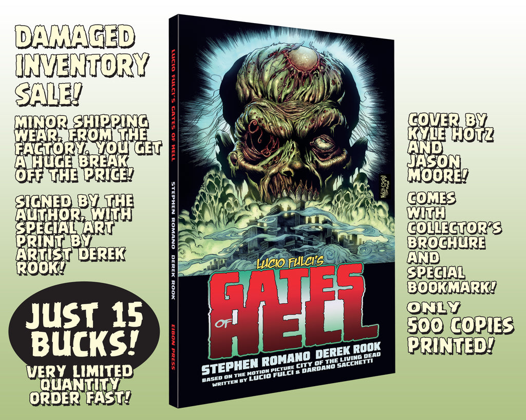 Gates Of Hell Trade Paperbacks - Factory Damaged Inventory SALE! Minor corner damage, LOW PRICE!