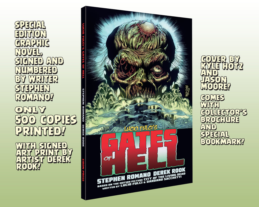 Gates Of Hell Trade Paperback Collection! Signed And Numbered! Only 500 Printed!