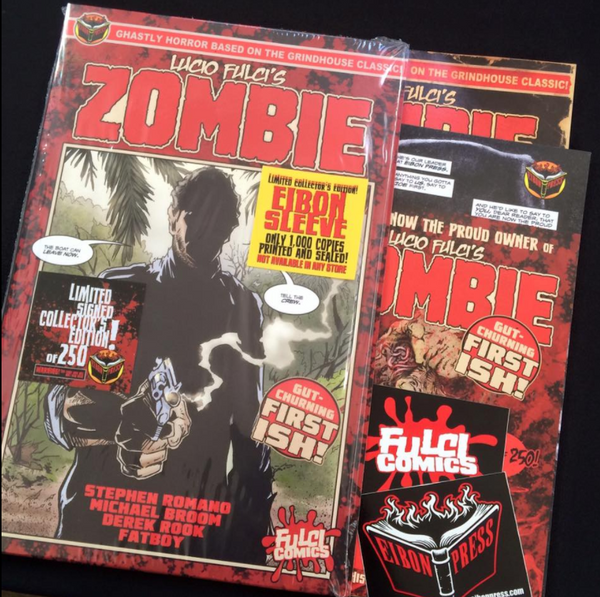 Zombie ISSUE #1 PREMIER ISSUE