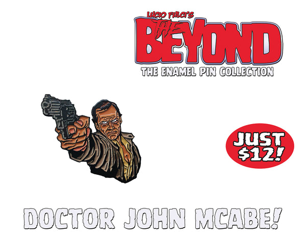 Doctor John McAbe - The Beyond Enamel Pin Collection - Limited To 50 Sets!