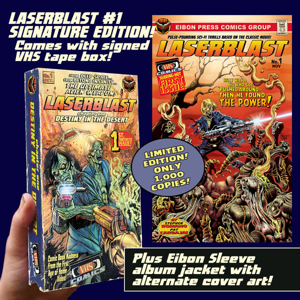 Laserblast Issue #1: Souvenir VHS Box Edition - Signed