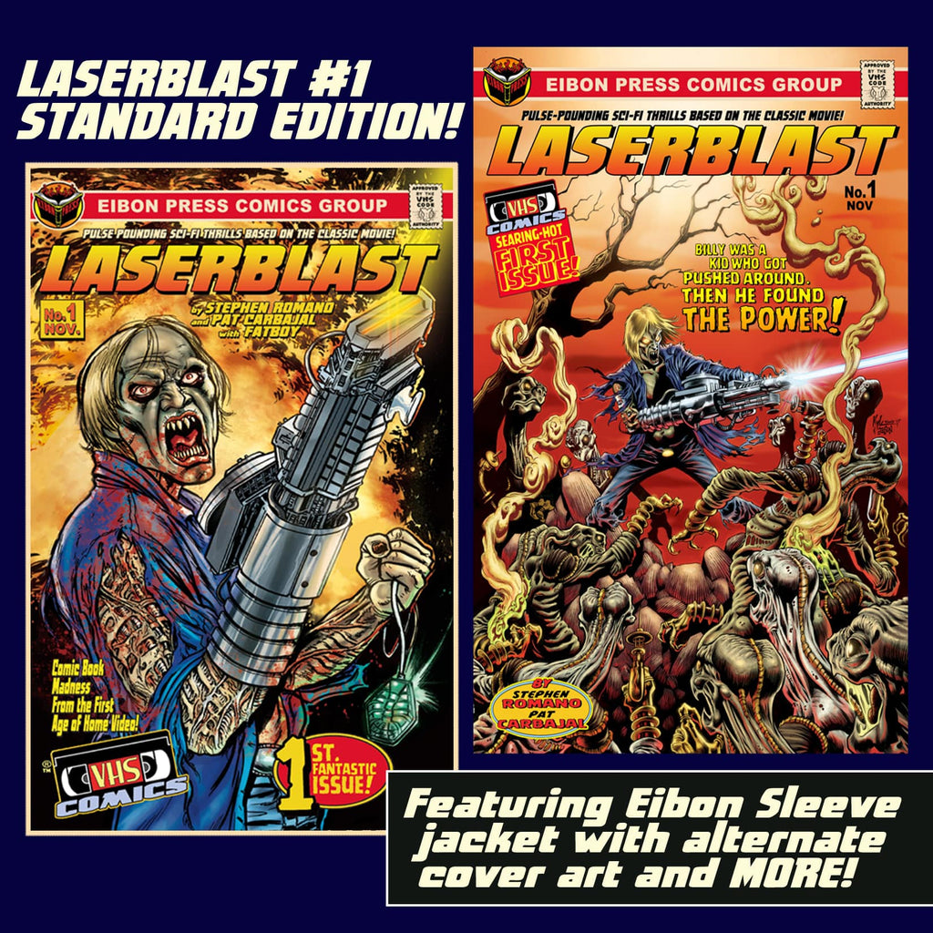 Laserblast Issue #1: Standard Edition - Unsigned