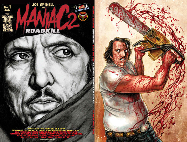 Maniac 2: Roadkill Standard Edition! 2 Exclusive Trading Cards - Only 600 Copies!