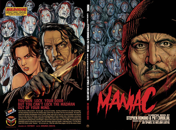 The Maniac Collection: Psycho Frank Edition! 3 Books! 3 Posters! 6 Prints! 1 Enamel Pin! Only 100 Sets Available!