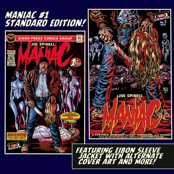 Maniac Issue #1: Standard Edition - Unsigned