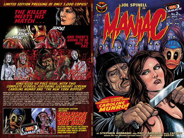 Maniac Issue #2: Standard Edition - Only 600 Copies!