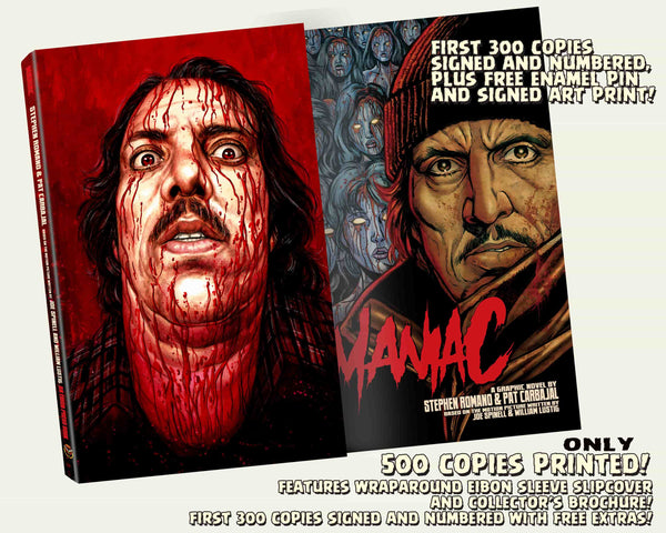 The Maniac Collection: Standard Edition! First 300 Sold Come Signed With FREE Enamel Pin and Art Print! Only 400 Available!