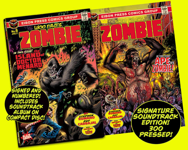 Zombie Issue #6 Signature Soundtrack CD Edition - Only 300 Copies!