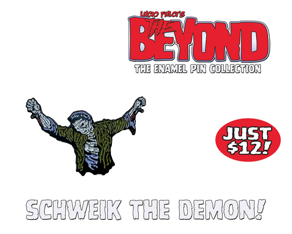 Sçhweik The Demon - The Beyond Enamel Pin Collection - Limited To 50 Pins!