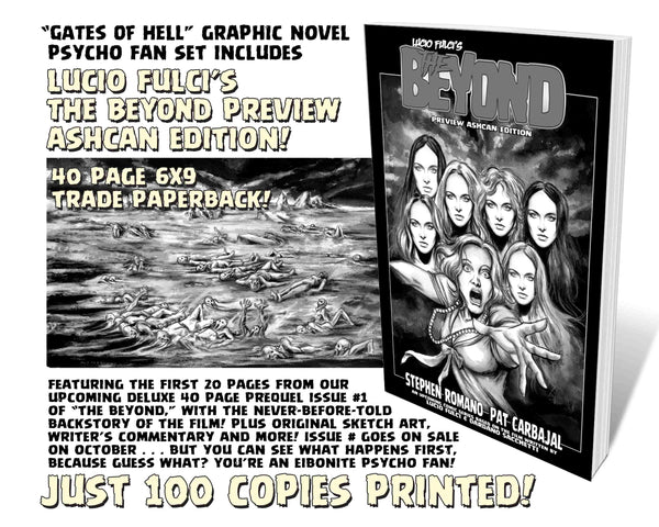 Gates Of Hell Trade Paper Back Collection PSYCHO EDITON! 3 RARE Books! Only 100 Available! JUST 12 LEFT!