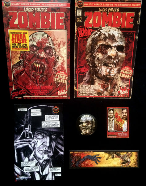LUCIO FULCI'S ZOMBIE #1 SPECIAL EDITION REPRINT - Unsigned Only 500!