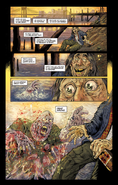 LUCIO FULCI'S ZOMBIE #1 THIRD EDITION REPRINT- STANDARD Edition. Only 700!
