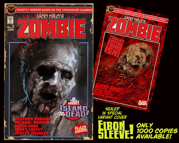 LUCIO FULCI'S ZOMBIE #3 With EIBON SLEEVE Only 1,000!