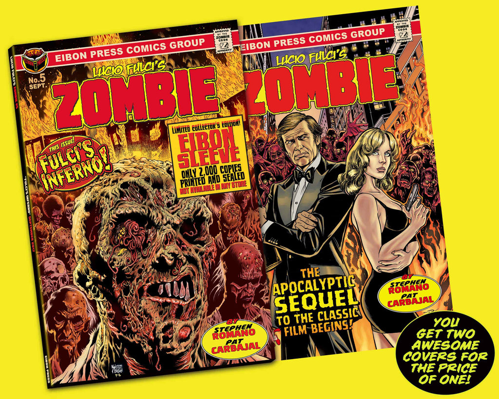 ZOMBIE ISSUE #5: Trading Card Inferno Edition! - Unsigned