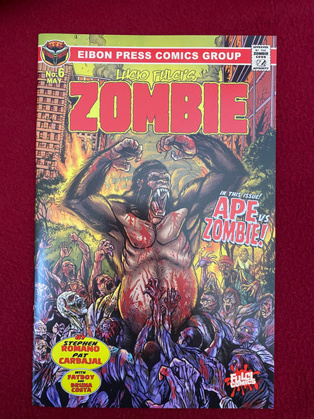 Zombie Issue #6: Factory Damaged Copies. No Sleeve. No Extras.