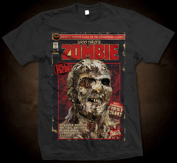 Eibon Press Shirts - Zombie Comic Cover