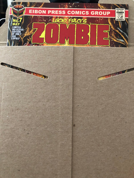 Zombie Issue #7 Un-Sleeved Variant Cover Edition - Only 200 Copies! Just The Comic, No Sleeve/No Extras.