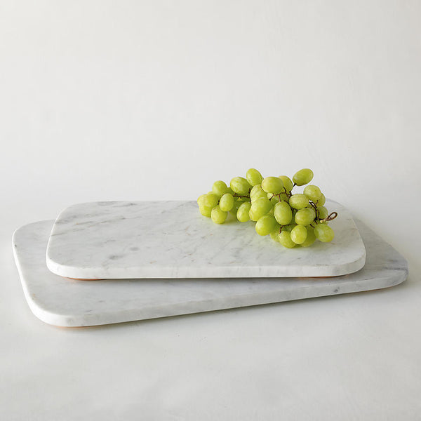 Marble + Copper Serving Board