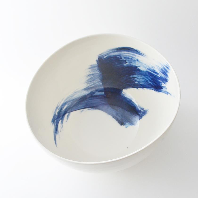 Blue + White Porcelain Bowl