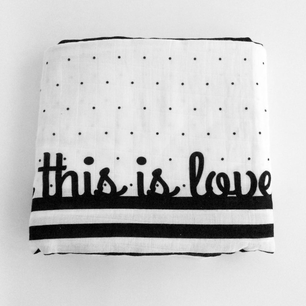 Organic Baby Swaddle Love