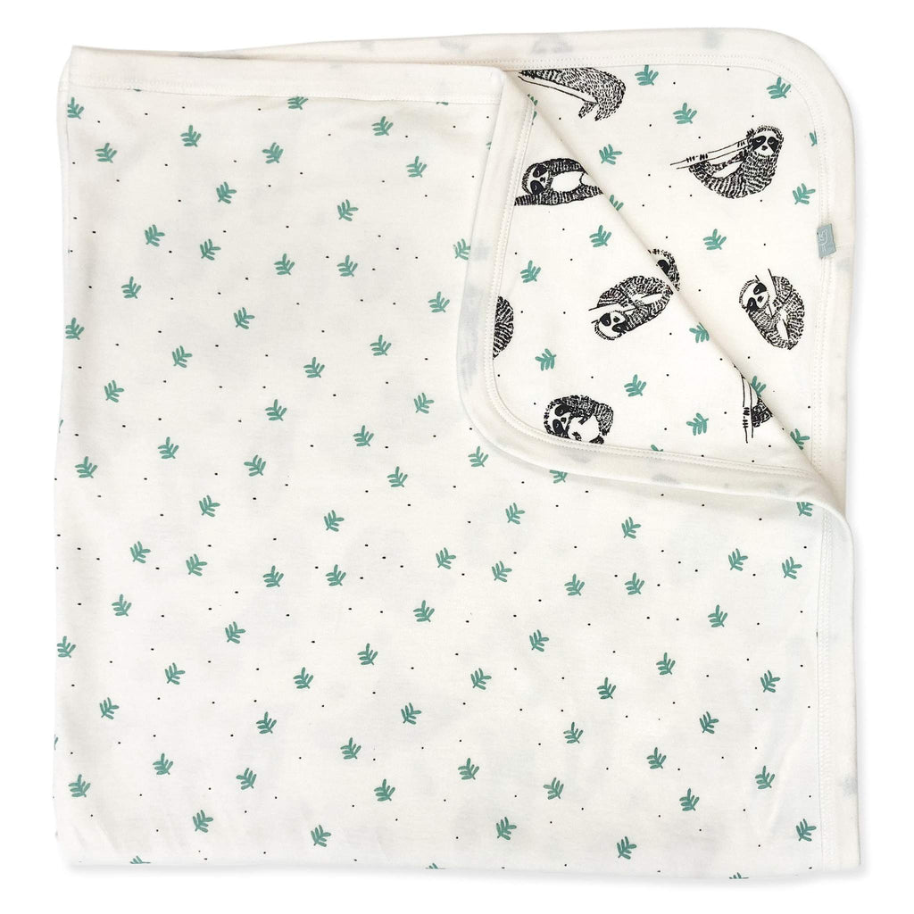 Organic Baby Swaddle Sloth