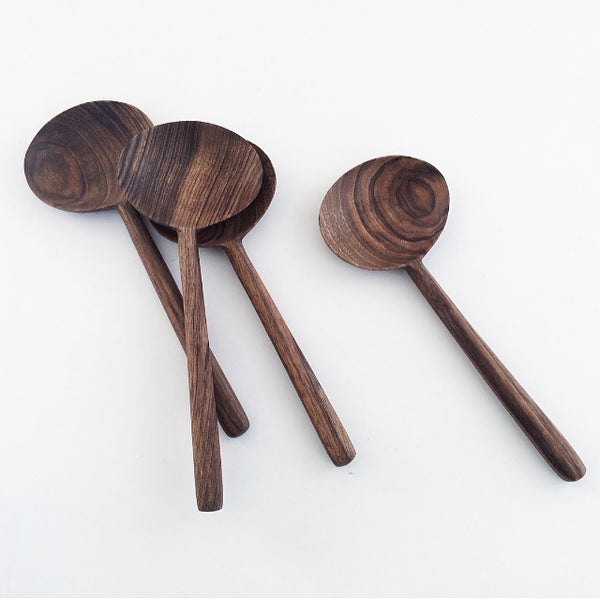 Oval Walnut Cooking Spoon