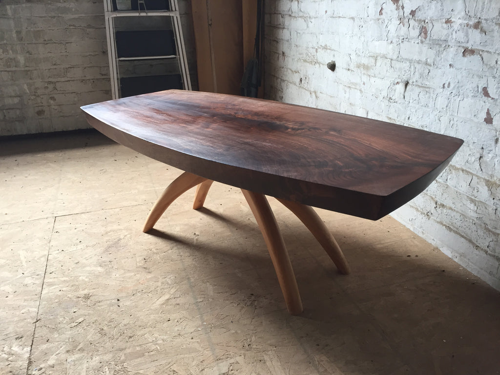 Walnut + Hickory Coffee Table