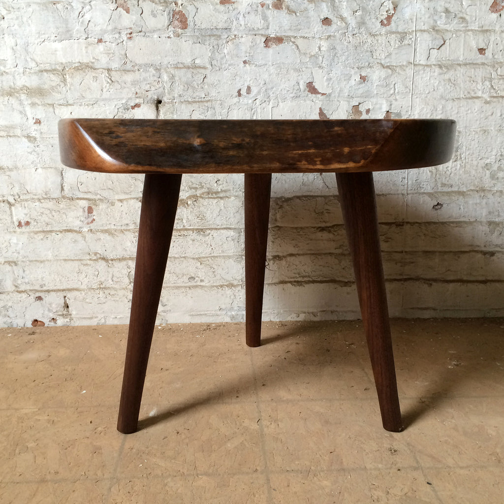 Custom Walnut Mini Side Table