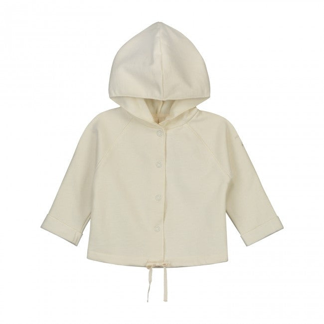 Organic Hooded Baby Cardigan