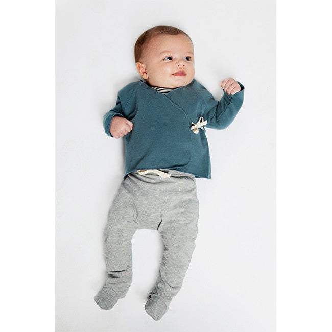 Organic Cross-Over Baby Top