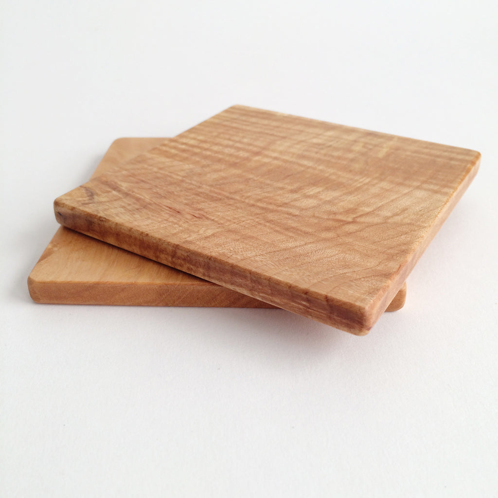 Tiger Maple Coaster s/2