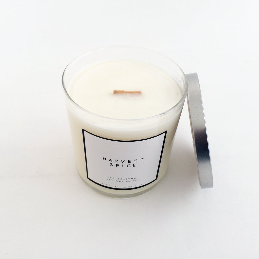 H + B Holiday Candle