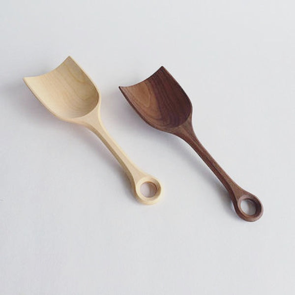 Wood Grain Scoop