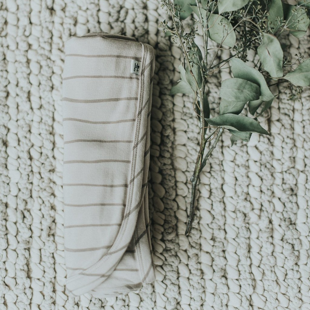 Bamboo + Jersey Baby Blanket